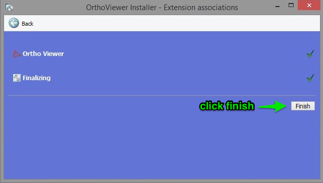 Orthoviewer download screen 3